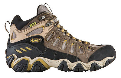 Oboz Mens Sawtooth Mid BDry Hiking Boots