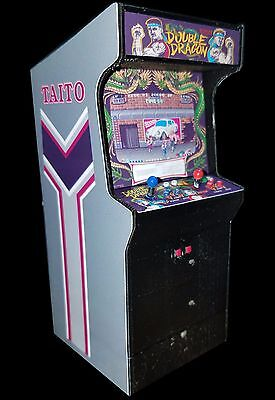 Mini Double Dragon Arcade Cabinet Collectible Display