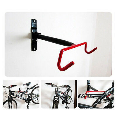Cycling Bike MTB Storage Garage Wall Mount Rack Hanger Bicycle Steel Hook Holder