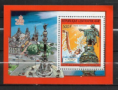 Central African Republic : 1987 Airmail Olympic Games Barcelona 92 New ( MNH )