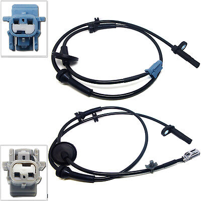 2pcs Front Left + Right ABS Wheel Speed Sensor For 2003-2007 Nissan Murano 3.5L