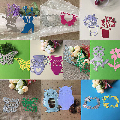 Metal Cutting Dies Stencil DIY Scrapbooking Embossing Album Paper Card Craft IM