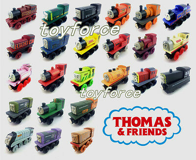 Thomas & Friends Railway Engine Magnetic Wooden Toy Train Loose New In Stock #1