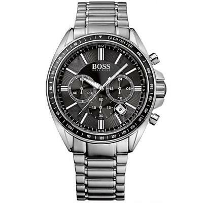 Hugo Boss Black Mens Stainless Steel Chronograph Watch 1513080