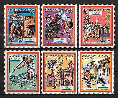 Guinea : 1987 Olympic Games Barcelona 92 New ( MNH )