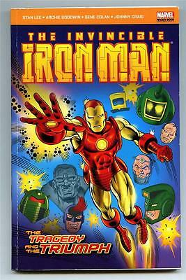 Invincible Iron Man: Tragedy and the Triumph - Marvel Pocket Book 2008 - FN/VFN