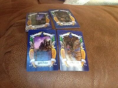 Job Lot Of 16 Different Lenticular Harry Potter Chocolate Frog Cards