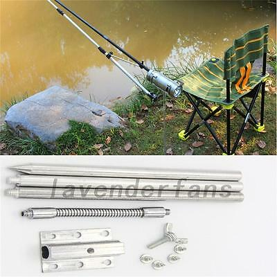 Portable Fishing Stainless Steel Stents Fly Box Bracket Mast