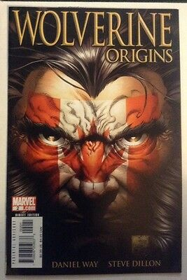 Wolverine Origins #2 Canadian Variant Cover, Excellent Condition
