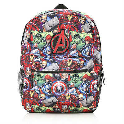 George Boys Kids Official Marvel Avengers School Rucksack Backpack