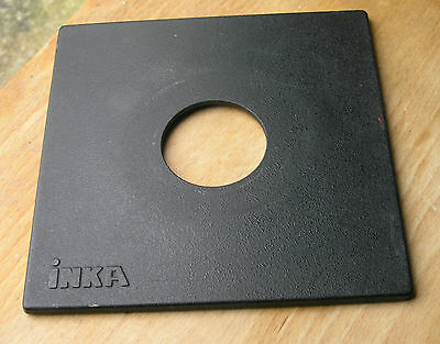 genuine Inka 140mm sinar fit  lens board panel for copal  compur 1 41.5mm hole
