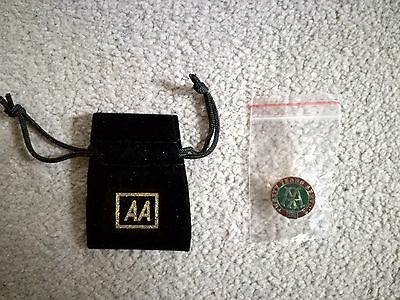 Rare Automobile Association AA Pin badge - 20 years service