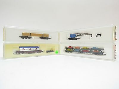 Marklin Z Gauge 8619-8714-82270-8621 Selection Of Wagons (A1)