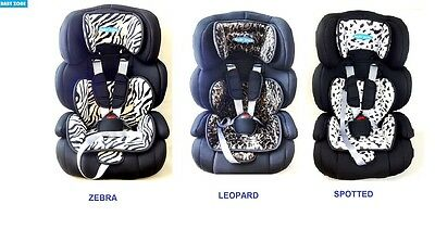 New Colours 3 In 1 Baby Car Seat Safety Booster 9 Months-12 Years 123 Group