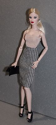 """OOAK Outfit For Fashion Royalty - 12"""" dolls, FR2"""