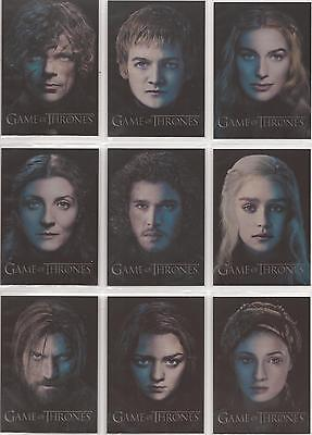 Game of Thrones Season 3 - 12 Card Gallery Chase Card Set PC1 to PC12