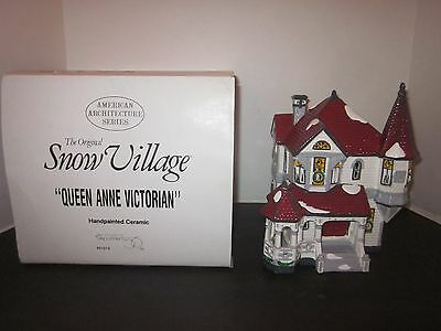 Dept 56 #5157-8 Queen Anne Vicorian American Architecture Series Nice Look!
