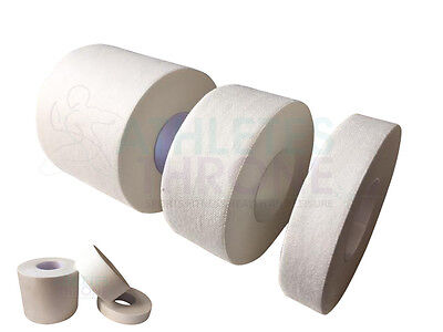 Qualicare White Waterproof Zinc Oxide NHS Medical Adhesive Sports Dressing Tape