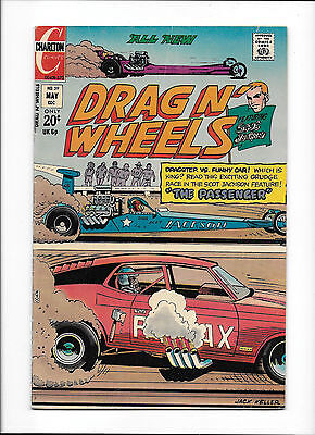 "Drag N' Wheels #59  [1973 Vg+]  ""the Passenger"""