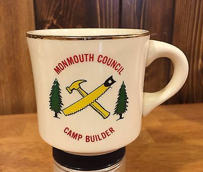 Boy Scout Mug Monmouth Council New Jersey Camp Builder Coffee Mug