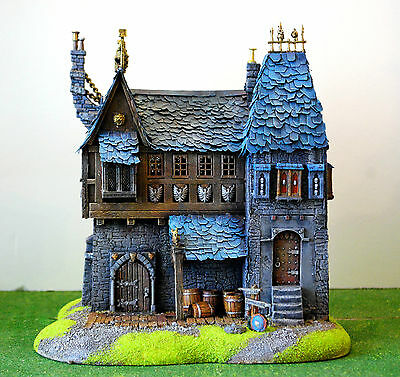 """WARHAMMER age of sigmar WAR GAME SCENERY """"BIG HAUSE EMPIRE"""" PRO PAINTED"""