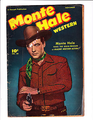 "Monte Hale Western   No.30     :1948 :     : ""Monte Meets The Undertaker!"" :"