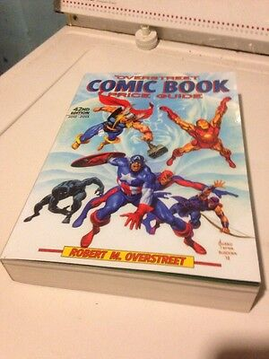 2012-13 Overstreet Comic Book Price Guide 42nd Edition Good Shape