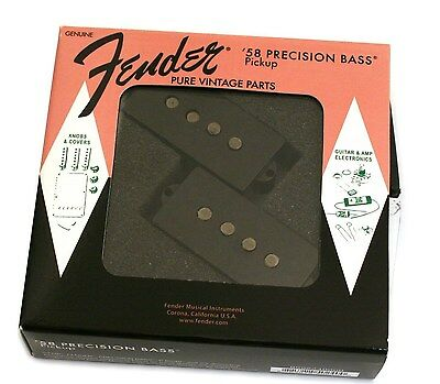 099-2240-000 Genuine Fender USA '58 Pure Vintage P Precision Bass Pickup Set