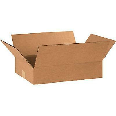 shipping boxes 25 Pk 18x12x4 Mailing Moving Box Cardboard Storage Carton Packing