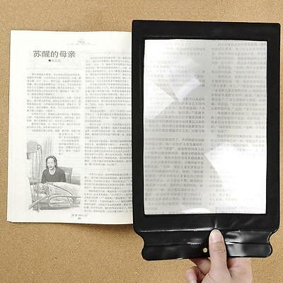 Pop First-rate A4 Giant Assisted Reading Magnifying Glass Sheet 3X Magnifier