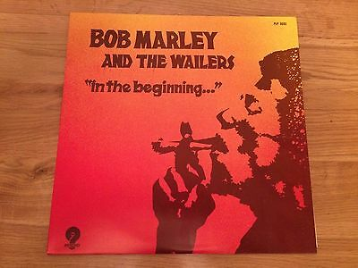 Bob Marley and the Wailers In The Beginning Vinyl Album