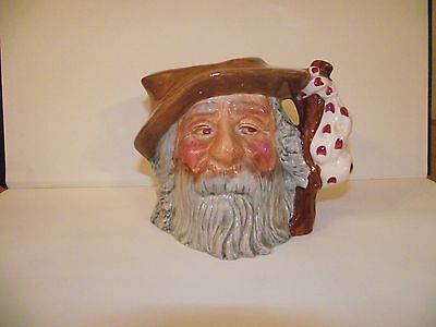 Oldcourt Ware 'the Tramp' Toby Jug Hand Painted