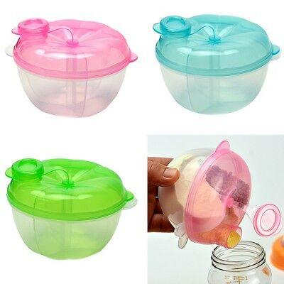 Dispenser Formula Container Baby Feeding 3-Layer Milk Powder Box Food Storage