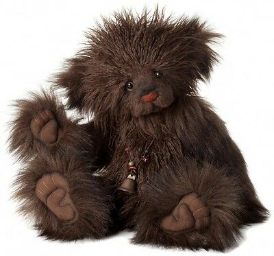 New **COLLECTABLE HANDMADE FULLY JOINTED CHARLIE BEAR ~ VALENTINO** 51cm