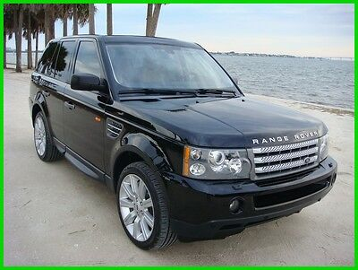 2008 Land Rover Range Rover Sport Supercharged 2008 Range Rover Sport Supercharged 81K STUNNING JAVA BLACK FLORIDA NO RUST