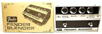 used Fender Blender reissue octave fuzz, near Mint with box & paperwork