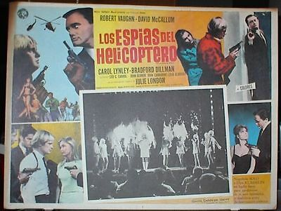 """""""THE MAN FROM UNCLE""""  1964-1968, 48 Original Lobby Cards (6 Complete Sets of 8)"""