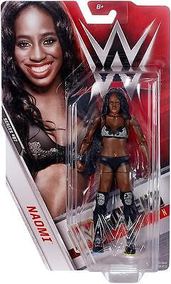 NAOMI Basic Series 67 WWE Mattel Brand New Figure Toy - Mint Packaging