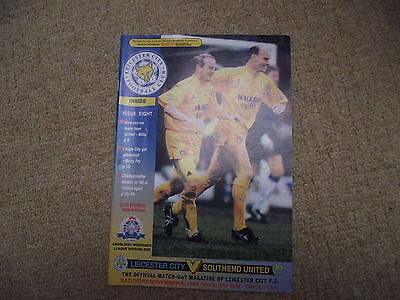 1993-94  LEICESTER CITY v SOUTHEND UTD Division One