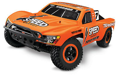 Traxxas 2WD Slash RTR Short Course Race Truck w/Battery TRA58034-1 Robby Gordon