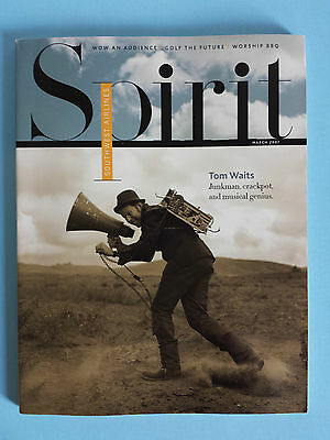 Tom Waits Southwest Airlines Spirit Inflight Magazine March 2007
