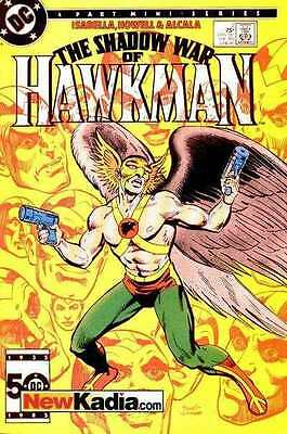 Shadow War of Hawkman #2 in Near Mint - condition. FREE bag/board
