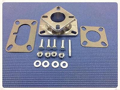 1 Barrel Manifold To  2 Barrel Carburetor Adapter Plate Set Rochester Stromberg