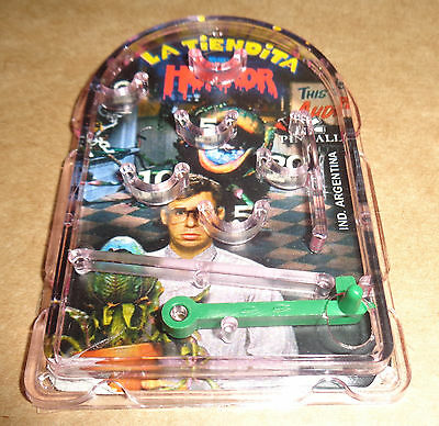 LITTLE SHOP OF HORRORS - MINI PINBALL collectible toy ARGENTINA premium