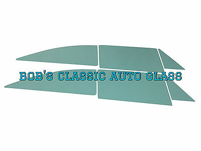 1963 1964 Ford Galaxie 500 2 Door Hardtop Glass New Classic Vintage Flat Windows