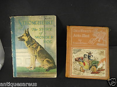 Strongheart The Wonderdog Story Book  And Uncle Wiggleys Auto Sled