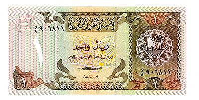 Qatar ... P-7 ... 1 Riyal ... ND(1980s) ... *UNC*