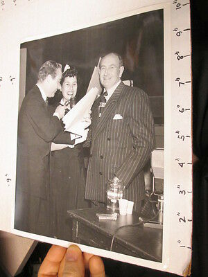 NBC TV studio show promo photo 1949 THIS IS YOUR LIFE Ralph Edwards Mr Steffel