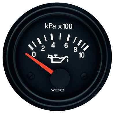VDO 24V Electrical Engine Oil Pressure Gauge 0-1000Kpa and Sender 350040017