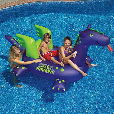 Pool Toys for Kids and Floats Adults Water Lounge Raft Swimming Inflatable